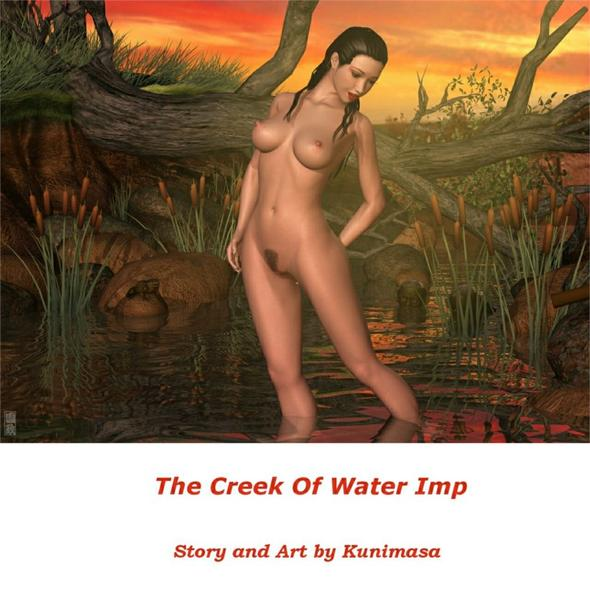 Kunimasa The Creek Of WaterImp