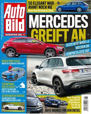 Cover: Auto Bild Zeitung Schweiz 13 April 2018