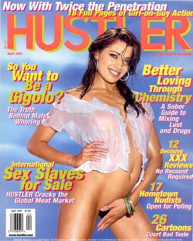 Hustler Usa April 2001