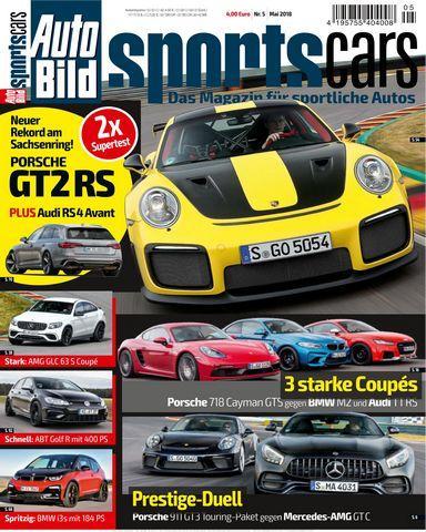 Auto Bild Zeitung Sportscars Mai 2018