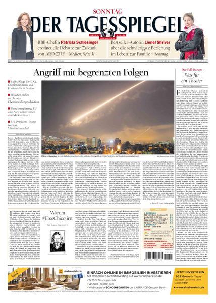 Der Tagesspiegel 15 April 2018