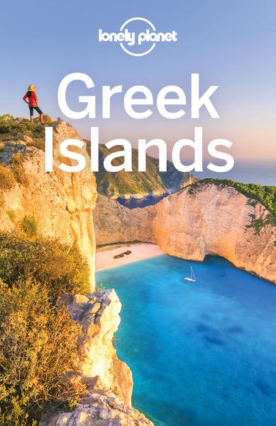 Cover: Lonely Planet Greek Islands Travel Guide 10th Edition