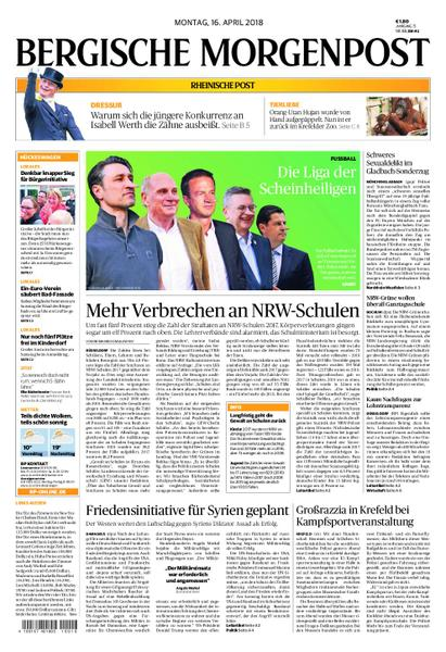 Bergische Morgenpost 16 April 2018