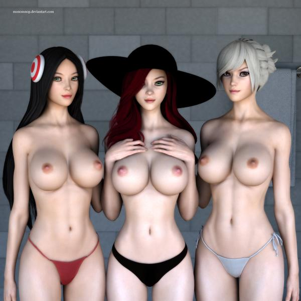Monomnop League of legends girls Updated