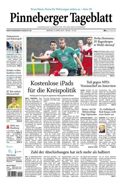 Pinneberger Tageblatt 16 April 2018