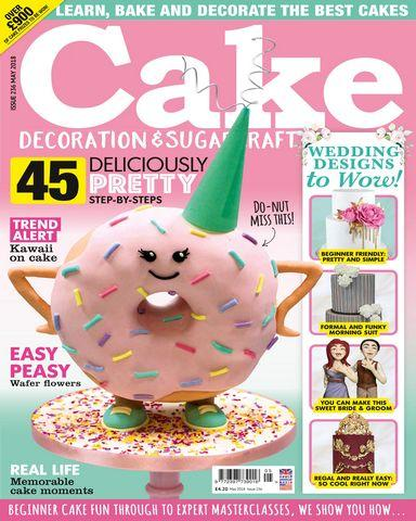 Cake Decoration und Sugarcraft May 2018