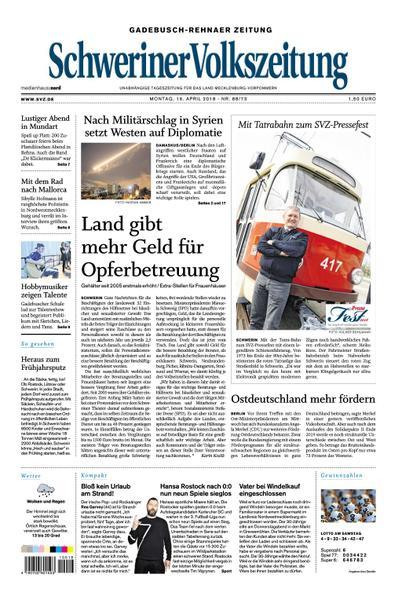 Schweriner Volkszeitung Gadebusch