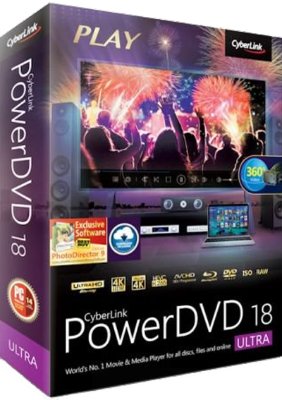 CyberLink PowerDVD Ultra v18.0.1619.62