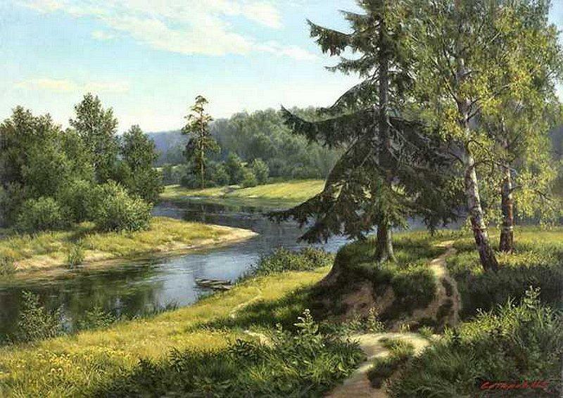 Творчество художника Михаила Алексеевича Сатарова