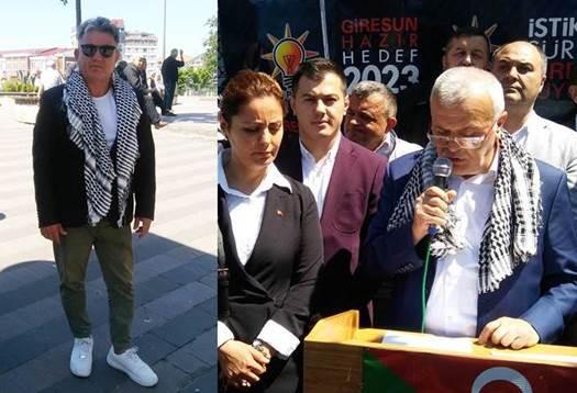 AKP'DEN GİRESUN'DA KUDÜS PROTESTOSU