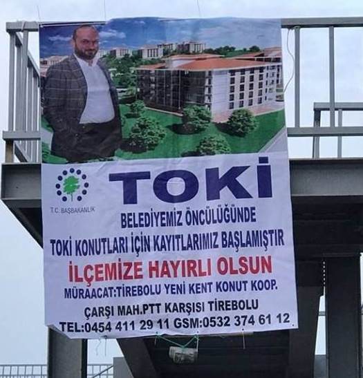 AKP'Lİ BELEDİYEDE TOKİ SKANDALI!..