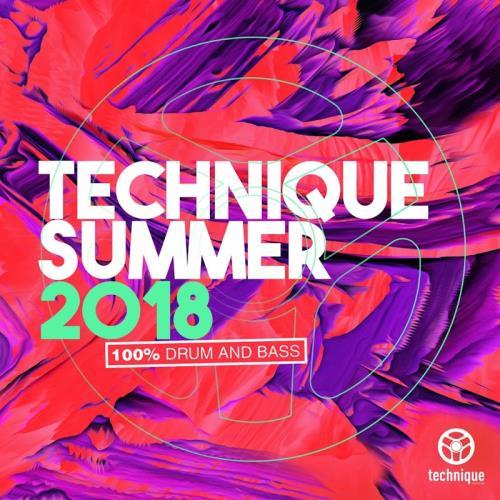 Technique Summer 2018 (100% Drum & Bass) (2018)