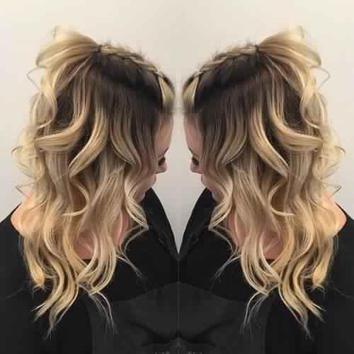 Trendy Hairstyles braid 2018 For Wedding Day 3