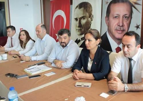 AKP GİRESUN'DA BELEDİYEYE ODAKLANDI
