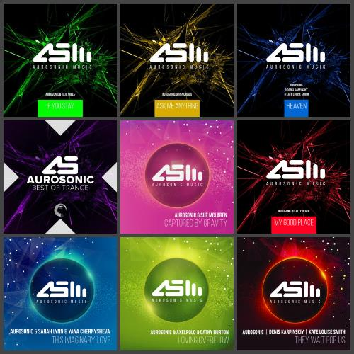 Aurosonic (12 Releases) - 2014-2018 (2018)