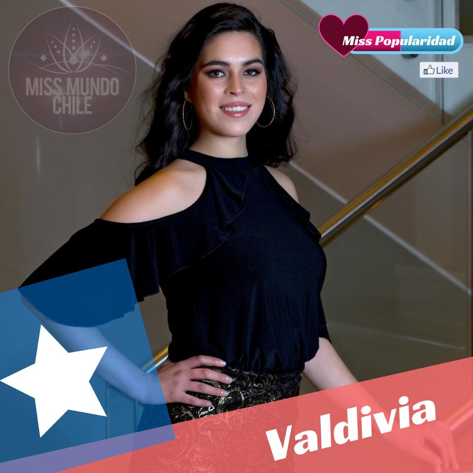 candidatas a miss chile mundo 2018. final: 2 sep. 5p7hp4kn