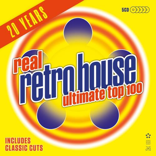 Real Retro House Ultimate Top 100 5 [CD] (2018)