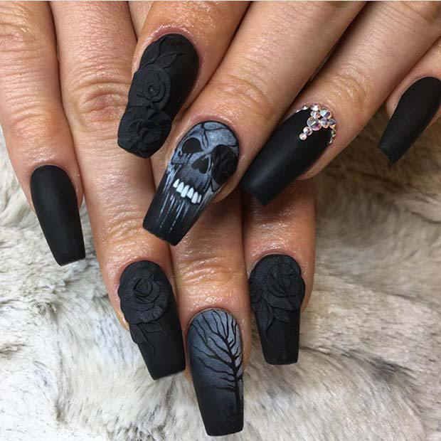 Cool Halloween Nails