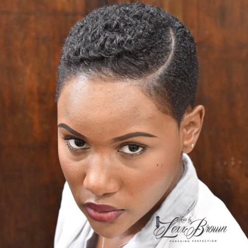 Currently Popular Short Natural Haircuts 2018 For Black