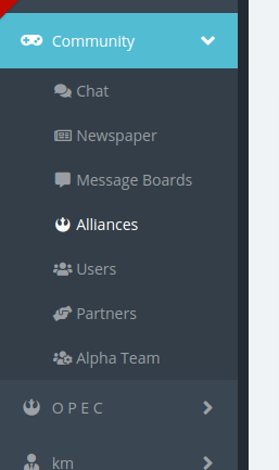 List of Alliances
