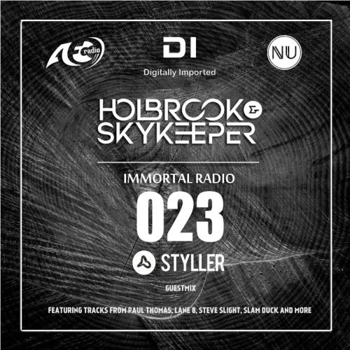 Holbrook & Styller - Immortal Radio 023 (2018-09-12)