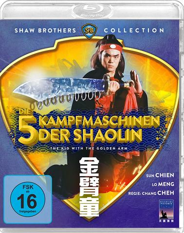 download Die fuenf Kampfmaschinen der Shaolin
