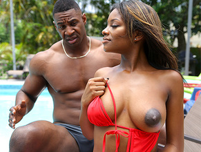 Lola Chanel – Ebony Lola Gets Stepbro Dick (14.09.2018)