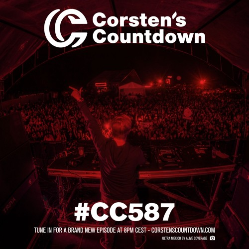Ferry Corsten - Corsten's Countdown 587 (2018-09-26)
