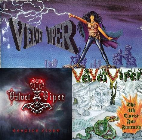 download Velvet Viper - (3 Alben)