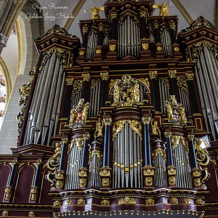 Organ Runner - Golden Jazz Hands (2018)