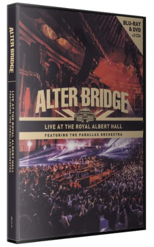 Alter Bridge - Live At The Royal Albert Hall (2018, Blu-ray)