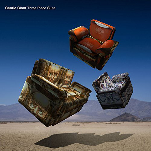 Gentle Giant - Three Piece Suite (2017, Blu-ray)