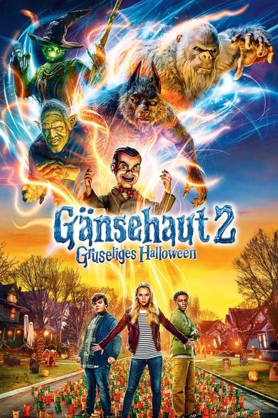 download Gänsehaut 2: Gruseliges Halloween (2018)