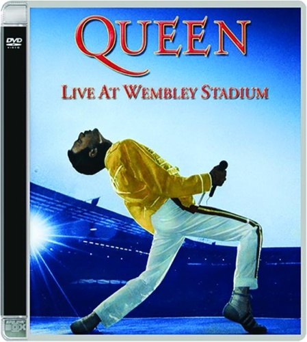 QUEEN - Live At Wembley Stadium 1986 (2003, 2xDVD9)