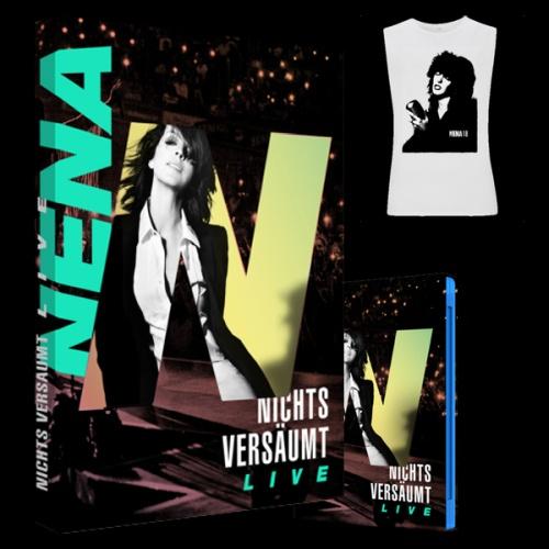 Nena - Nichts versaeumt Live (2018, Blu-ray)
