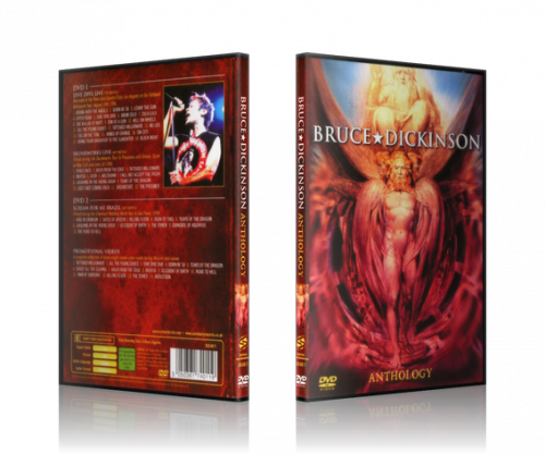 Bruce Dickinson - Anthology (2006, 2xDVD9, DVD5)