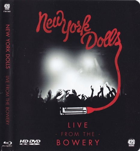 New York Dolls - Live From The Bowery (2012, Blu-ray)