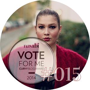 navabi Curvy Blog Award 2014