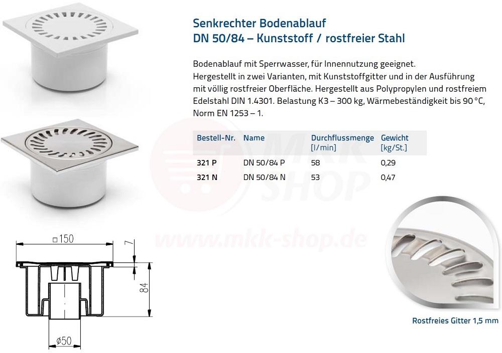 Ablaufgarnitur Dusche Senkrecht : Siphon wei? edelstahl 150 x 150 mm Ablaufgarnitur senkrecht Dusche