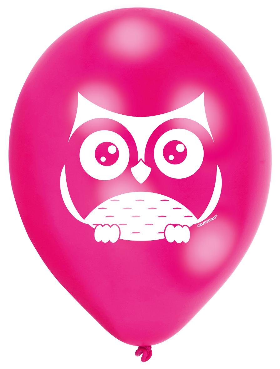 // Eulen-Party Luftballons 998354