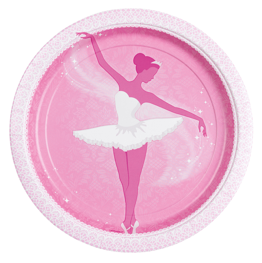 Prima Ballerina Party 8 Teller klein 998299 !!!