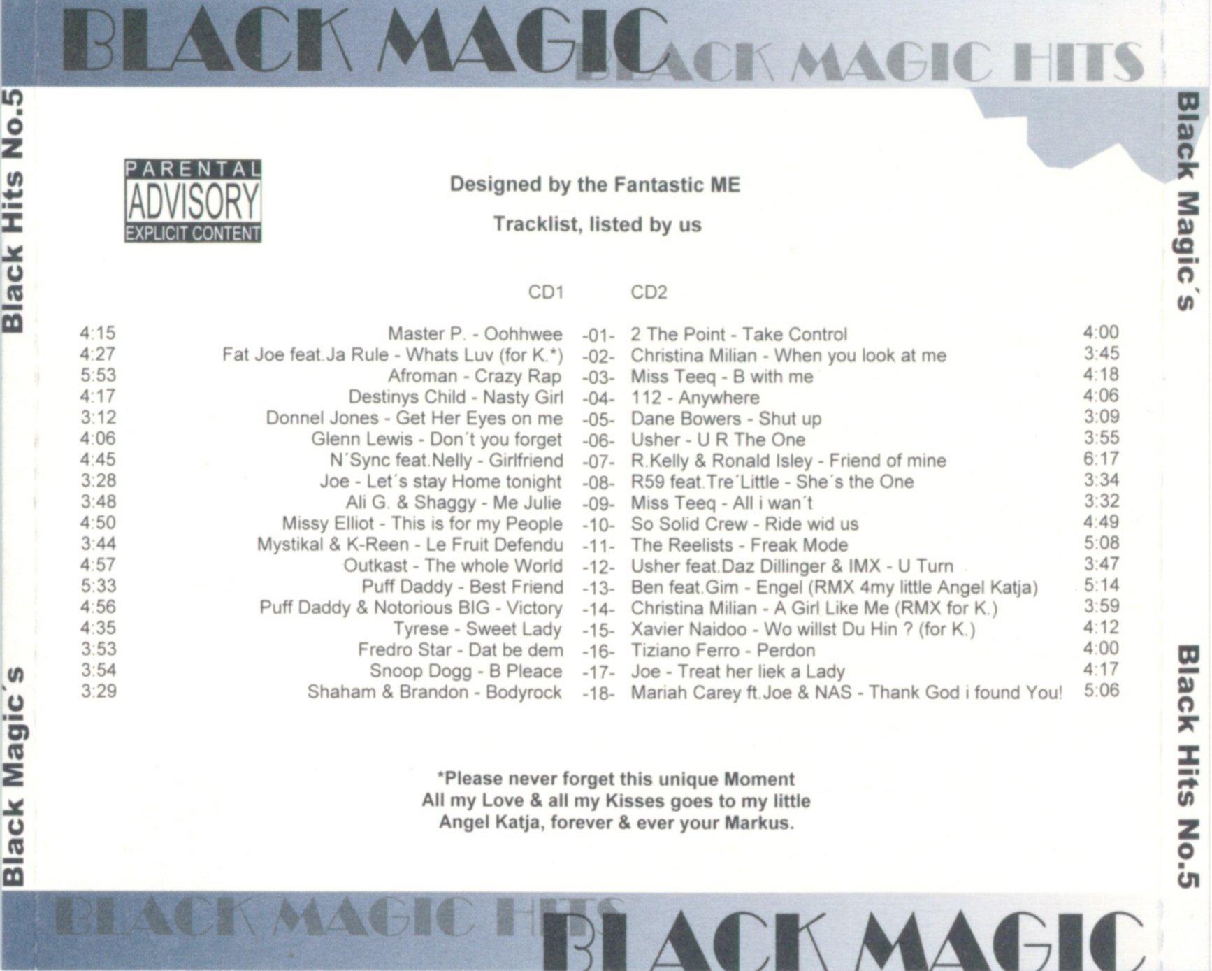 Black Magic - Black Hits 05