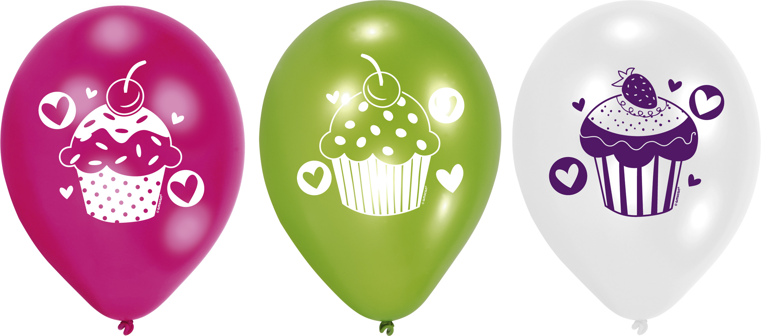 Cupcake-Party Luftballons 997337--