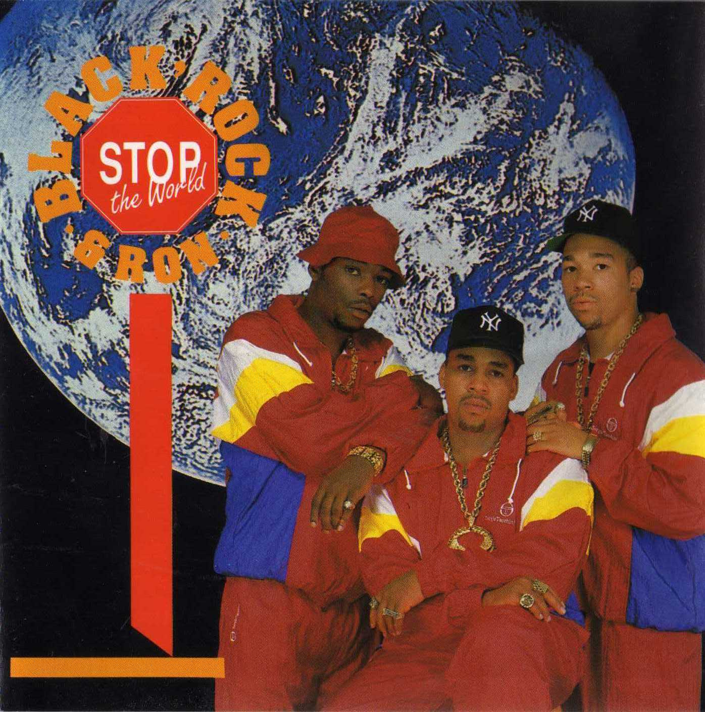 Black, Rock & Ron - Stop The World CD (320)