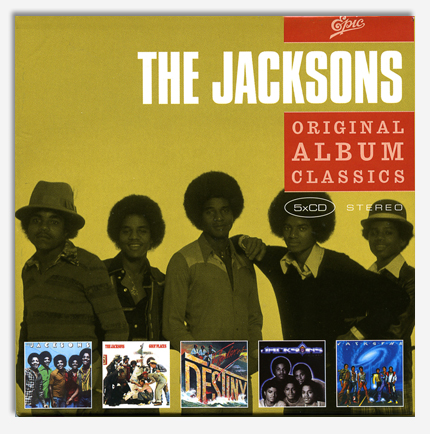 The Jacksons - Original Album Classics (5 CD)