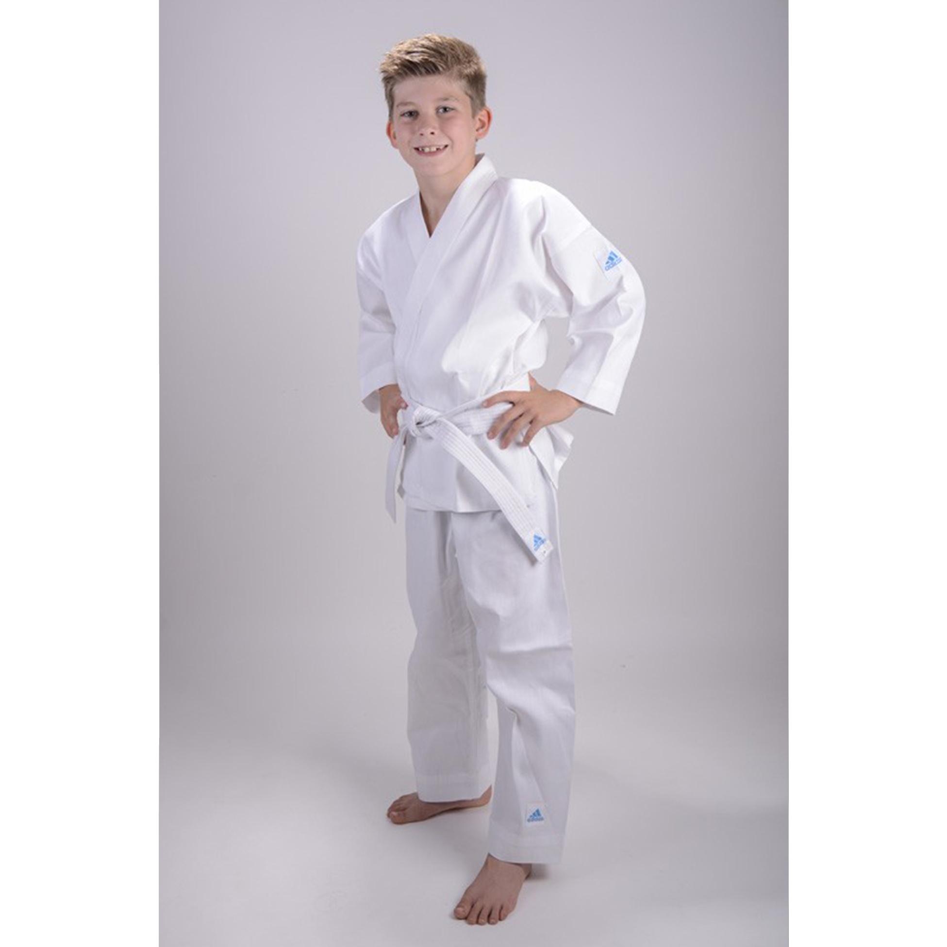 kinder adidas karate anzug k200e kids evolution wei gr. Black Bedroom Furniture Sets. Home Design Ideas