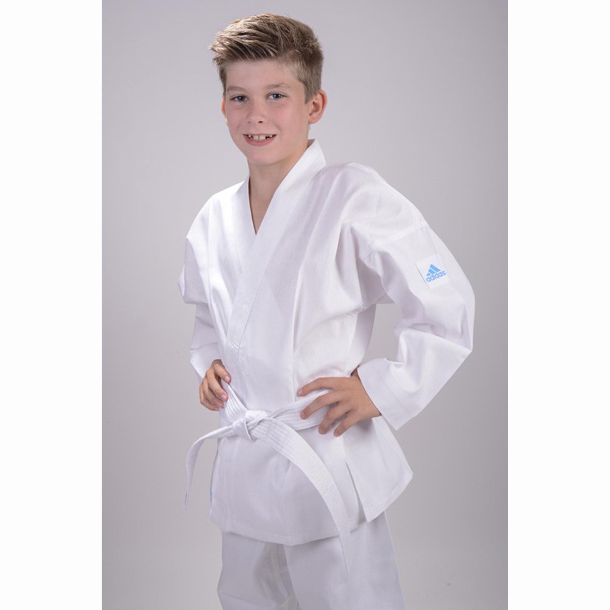 enfants adidas karat costume k200e kids evolution blanc. Black Bedroom Furniture Sets. Home Design Ideas