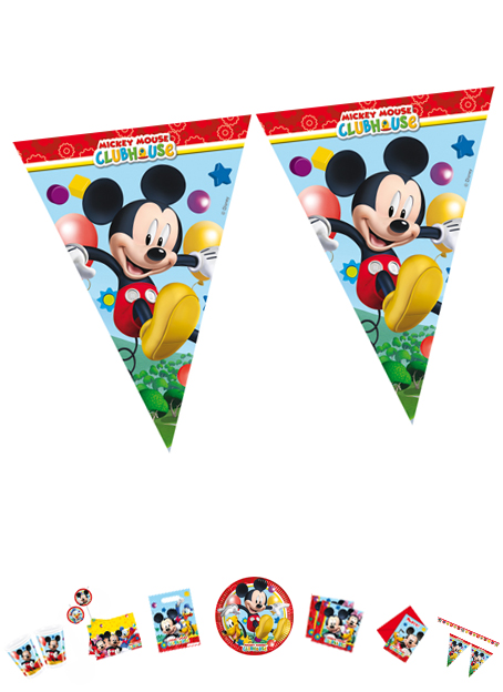 Mickey Mouse Flaggenkette P81515