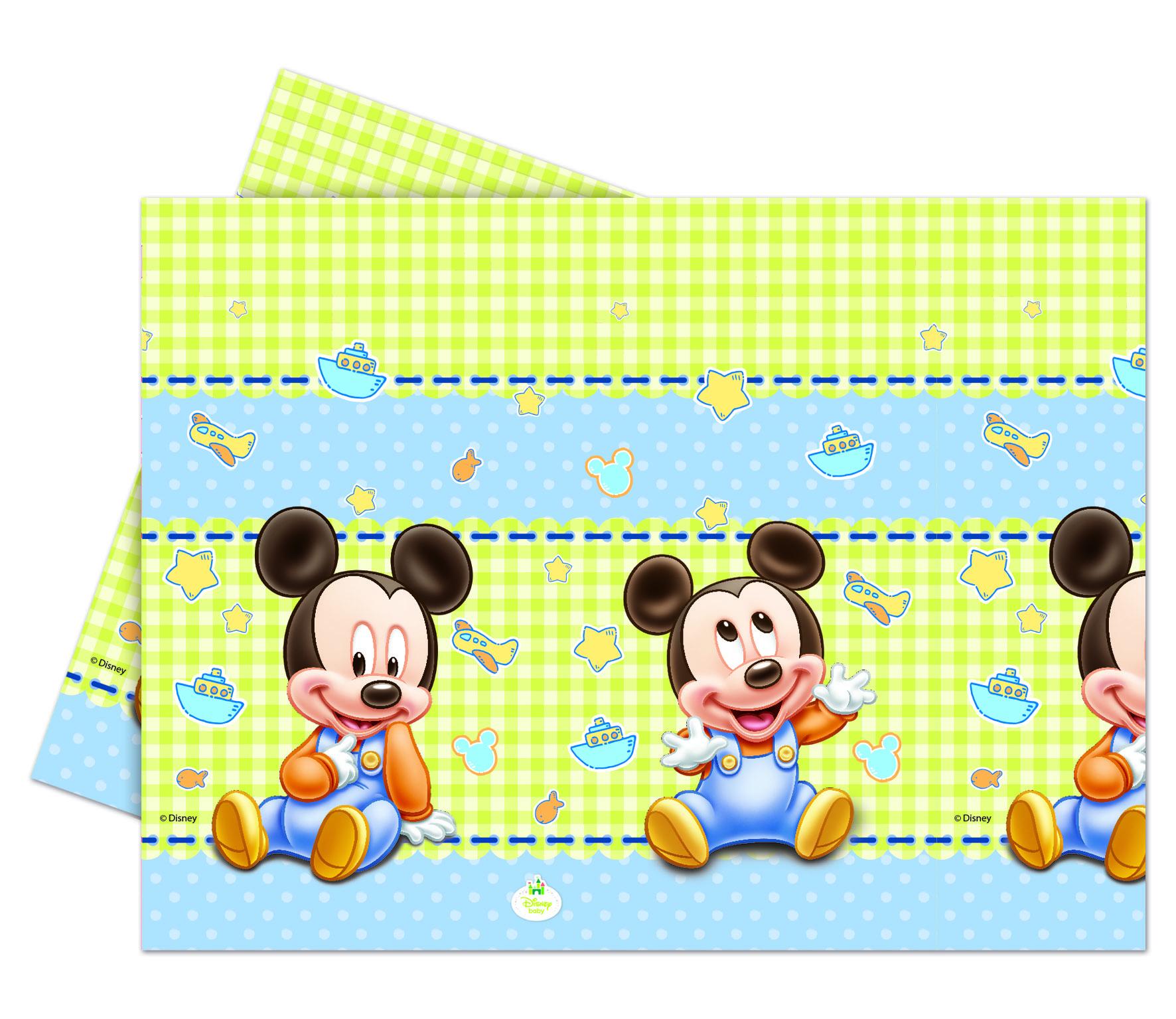 Baby Mickey Tischdecke 120 x 180 cm, P84348