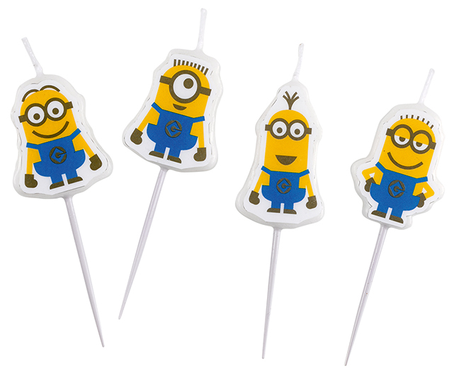 Minions Mini-Figuren-Kerzen, a997982